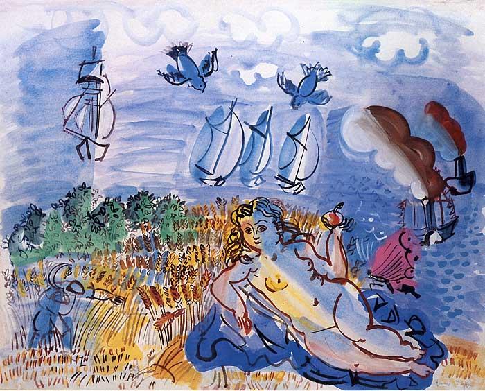 Raoul Dufy in Spring - ☆平平.淡淡.也是真☆  - ☆☆。 平平。淡淡。也是真。☆☆ 。
